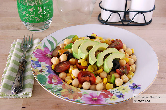 13 ensaladas sanas a base de conservas, que facilitan la tarea de cocinar en verano