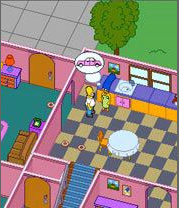 Juego oficial de los Simpson para el móvil