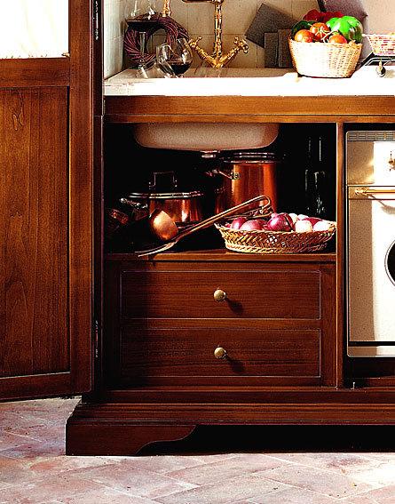 Una cocina vintage compacta for Decoesfera cocinas