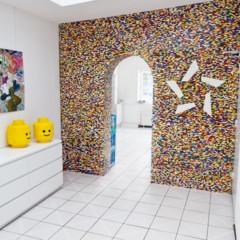 Foto 3 de 7 de la galería separando-espacios-con-un-muro-de-lego en Decoesfera