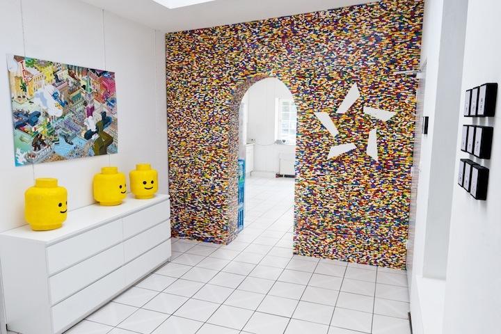 Foto de Separando espacios con un muro de lego (3/7)