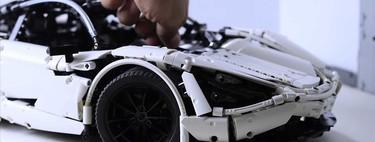 McLaren 720s de LEGO: Fanático tarda 2 años en crear este vehículo