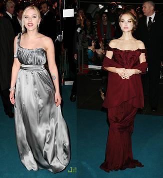 Scarlett Johansson y Natalie Portman juntas en Londres