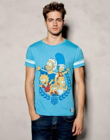 Los Simpson son olímpicos en las camisetas de Pull&Bear