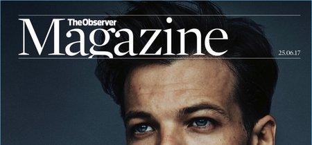 El tercero en salir de One Direction, Louis Tomlinson, en la portada de la revista The Observer