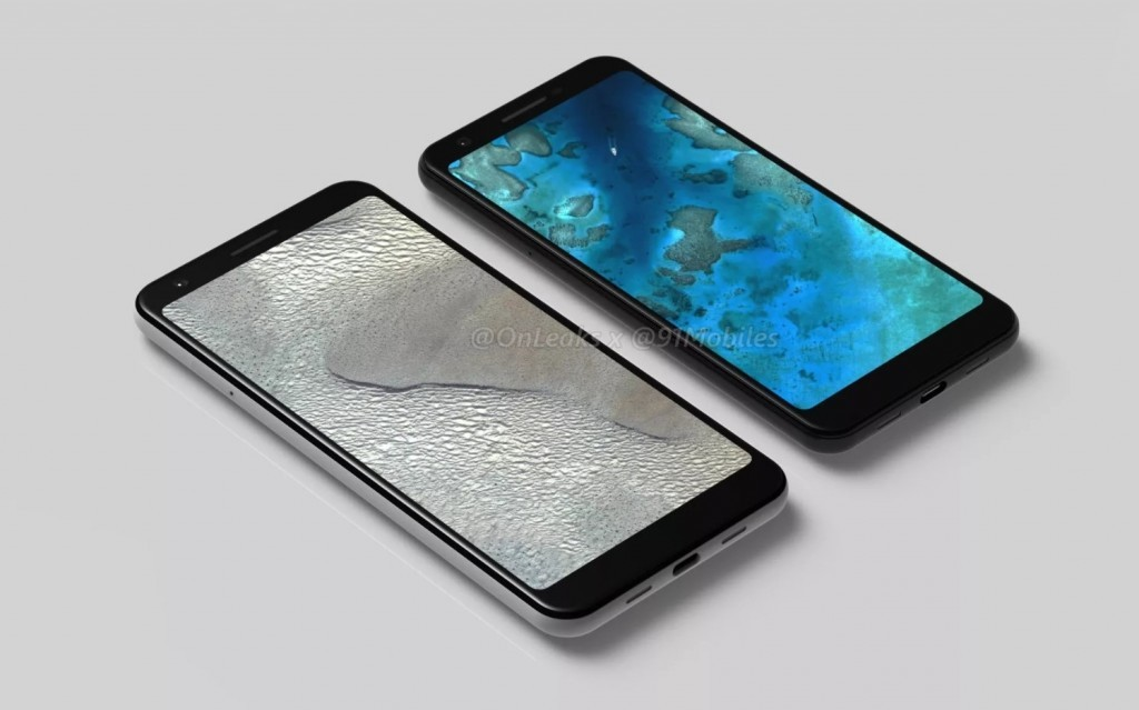 A filtering of the Pixel 3 Lite and Pixel 3 Lite XL leaves us with renderings and possible specifications