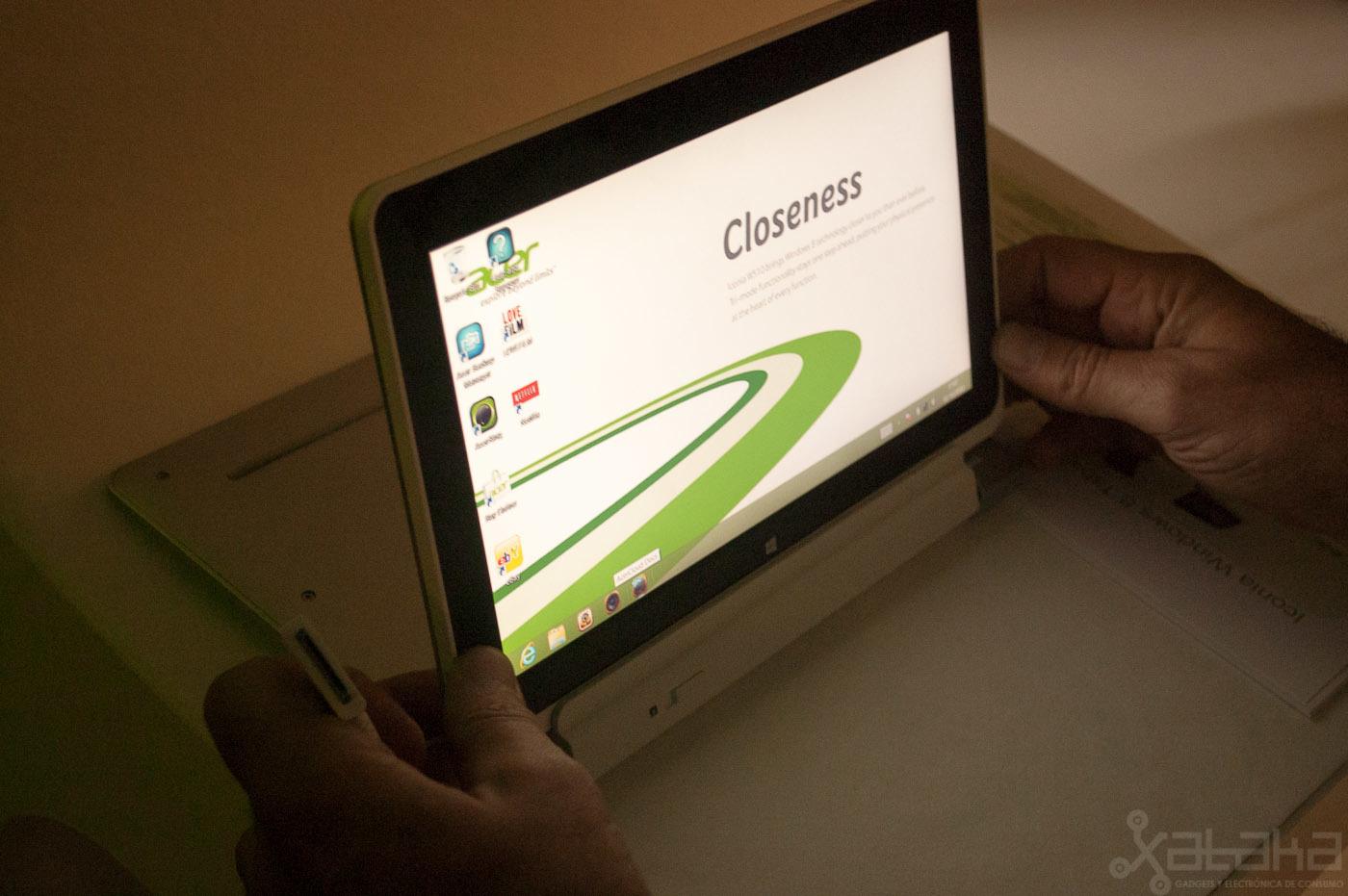 Foto de Acer Iconia W510, primeras impresiones (2/14)