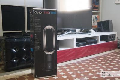 Analizamos el calefactor Dyson AM05 Hot+Cool