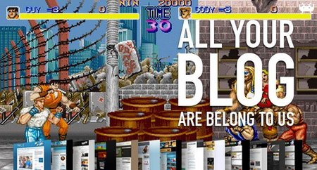 All your blog are belong to us (CV)
