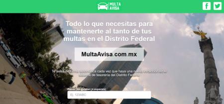 Multa Avisa te permite estar al tanto de tus multas de tránsito en CDMX