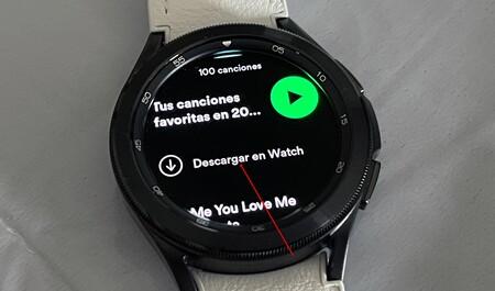 Descarga Spotify Reloj Wear Os