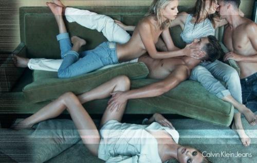 Foto de Calvin Klein Jeans, campaña Primavera-Verano 2009 ¿censura buscada? (1/5)