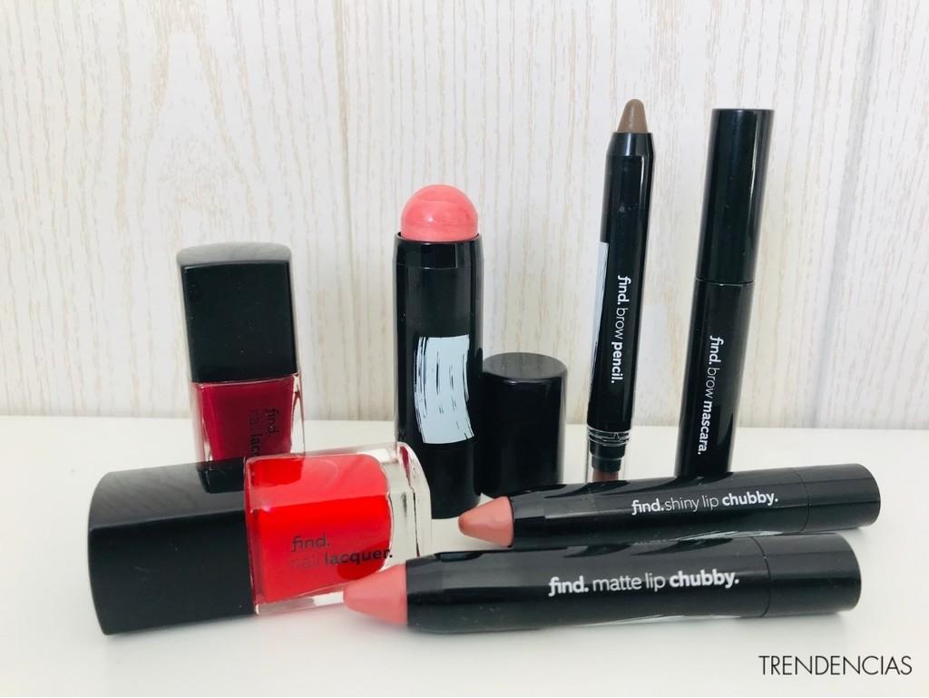Hemos probado y somos muy fans de la nueva linea de maquillaje low-cost de find., la firma de Amazon