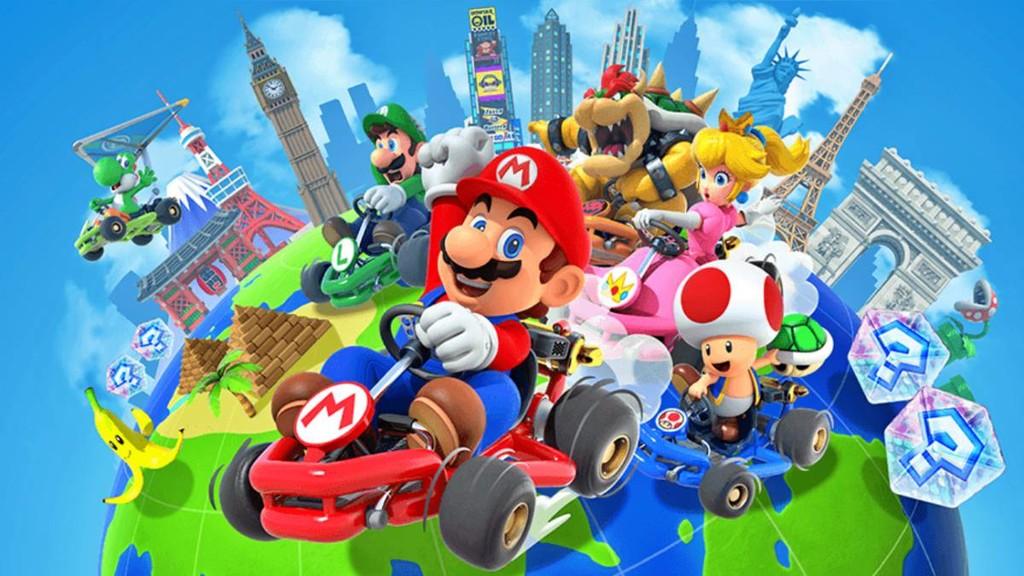 Mario Kart Tour empezará las pruebas del manera multiplayer en diciembre