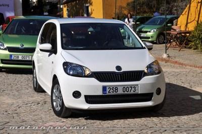 Škoda Citigo, presentación y prueba en Lisboa