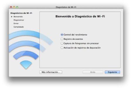 Posibilidades de Wifi diagnostics