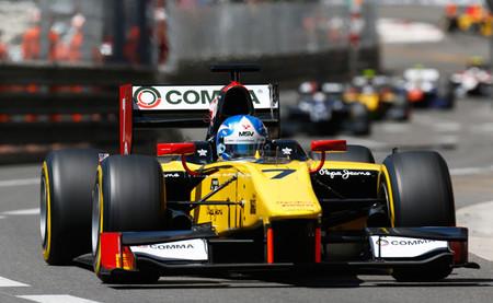 Los pilotos de DAMS se reparten las victorias en Mónaco y Sergio Canamasas se estrena en el podio