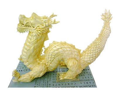 Cocina con arte: Dragón chino de King Zcorpio