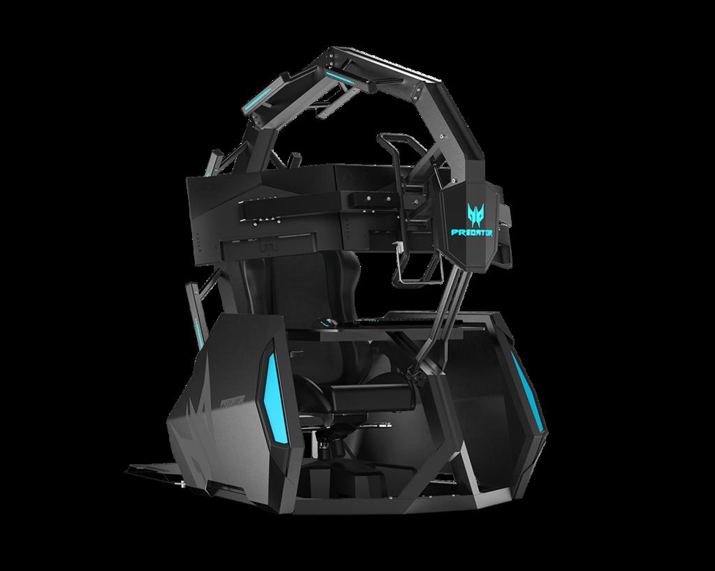 Predator Thronos Air: la nueva silla gaming de 9000 euros de Acer es una estación de batalla que da incluso masajes