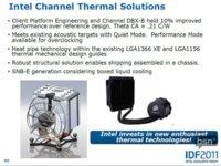 Intel Sandy Bridge E... ¿con refrigeración líquida de serie?
