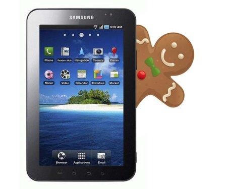 Samsung Galaxy Tab Gingerbread