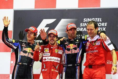 """Fernando Alonso deja el campeonato al """"rojo"""" vivo"""