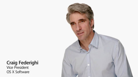Craig Federighi, el mayor descubrimiento de la pasada Keynote