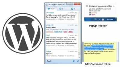 Gestiona los comentarios de tu blog desde el escritorio con Wordpress Comments Notifier