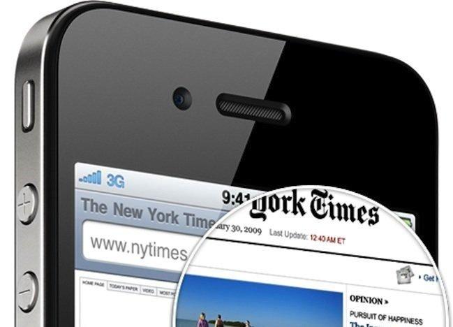 iPhone 4, retina display