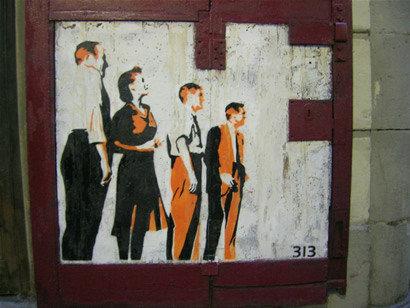 Stencils: los nuevos grafittis con mensaje en las ciudades
