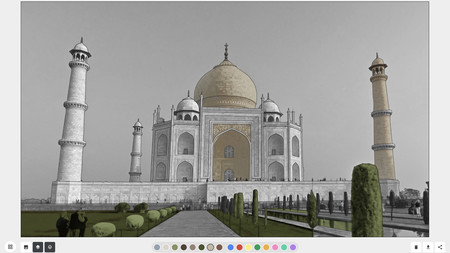 Art Coloring Book Tajmahal