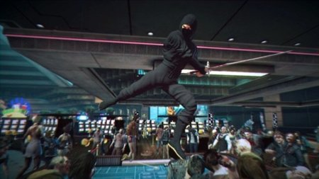 'Dead Rising 2'. Be a ninja, my friend