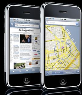 Rivales para el iPhone de Apple: navegador y correo