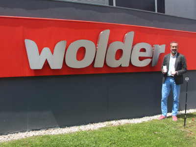 """""""Algunas marcas chinas están en una frontera de dudosa de calidad"""". Juan Luis Velázquez, Director General de Wolder"""