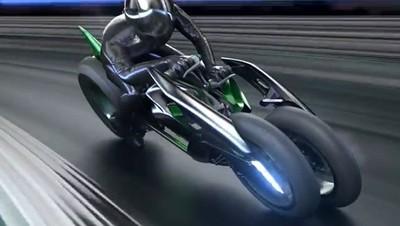 La Kawasaki J Concept en movimiento, ¡vaya pasada!