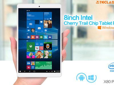 Venta Flash: Tablet Teclast X80 Plus, con 2GB de RAM y Windows 10, por 69 euros