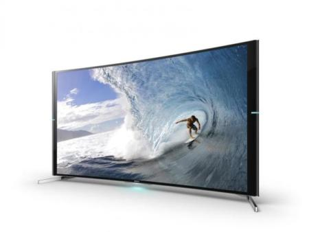 Sony, finalmente, lanza su televisor curvo UHD/4K
