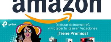 Mejorar tu conexión o vigilar tu casa con TP-Link y Amazon este verano tiene premio
