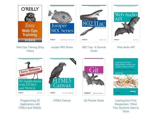O'Reilly ofrece sus libros más nuevos de programación de forma gratuita online