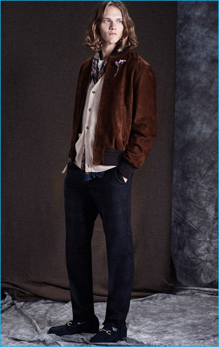 Club Monaco 2016 Fall Winter Mens Material Matters Lookbook 009