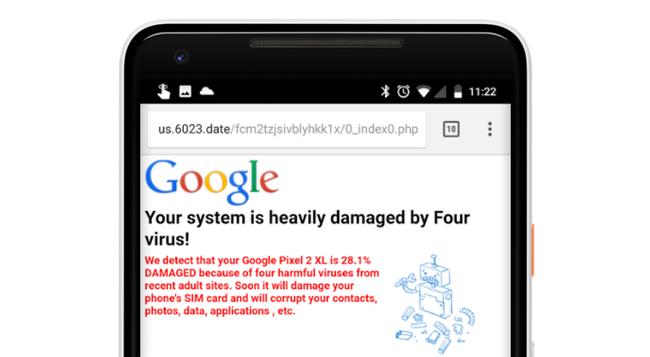 Nexus2cee Malware Popup Hero