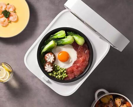 La popular arrocera de Xiaomi se renueva: Mijia Smart Rice Cooker 3L llega con NFC y display mejorado