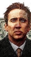 Nicolas Cage de despierta... ¡y se encuentra a un extraño en el salón!