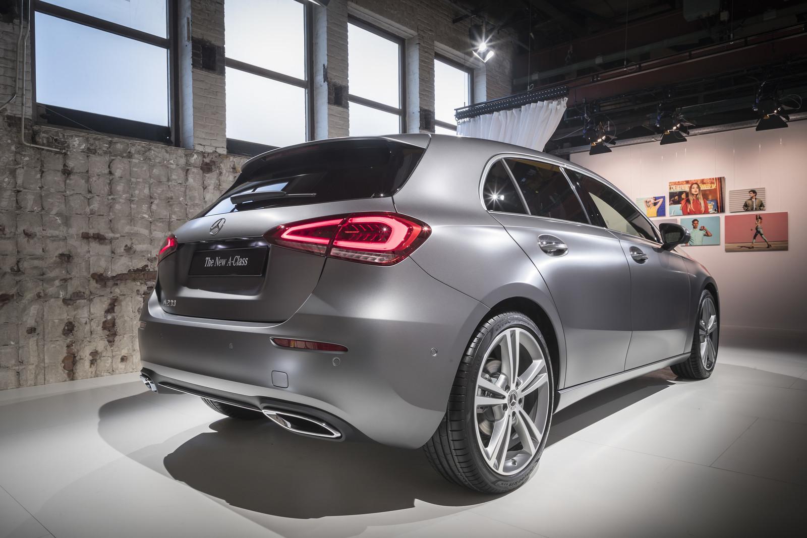 Foto de Mercedes-Benz Clase A 2018 - presentación (11/114)