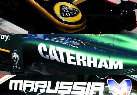 La comisión de la Fórmula 1 aprueba los cambios de nombre de Lotus, Caterham y Marussia