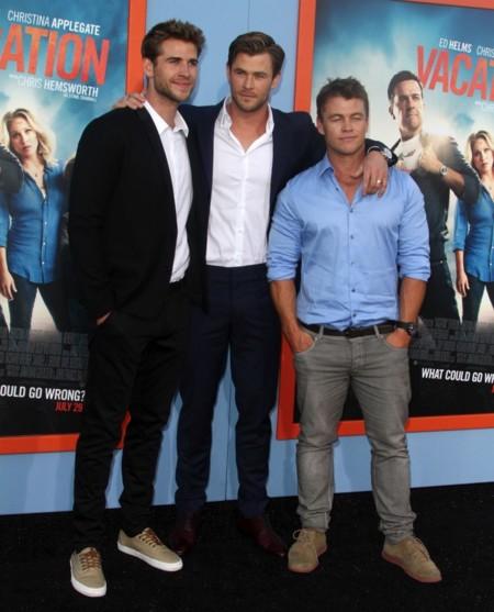 ¡Toma Hemsworths a cascoporro!