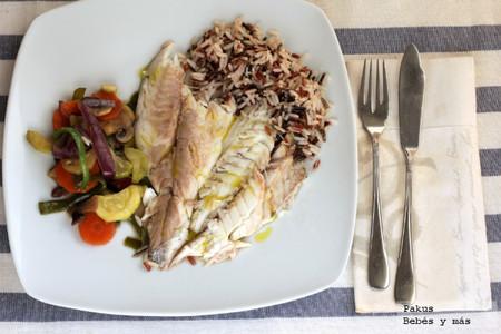 Hoy cena ligera: Pescado en papillote
