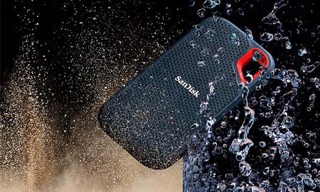Este disco duro SSD portable de 1 TB es ahora más barato que nunca en Amazon: SanDisk Extreme Portable por sólo 103 euros