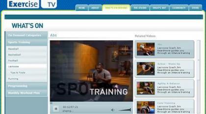 Exercise TV, se puede hacer ejercicio frente al ordenador