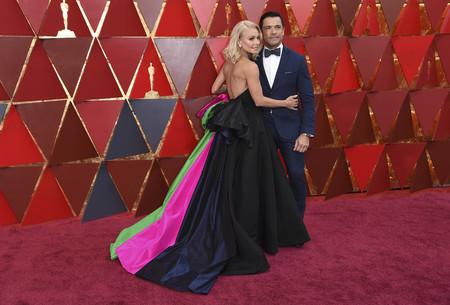 Oscars 2018 Kelly Ripa Y Mark Consuelos